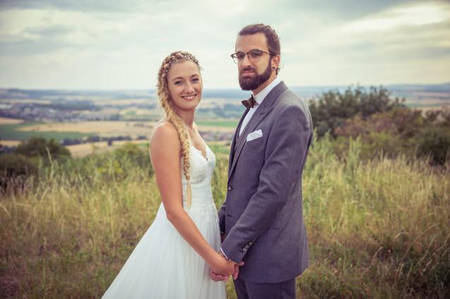Brautpaar | Boho-Hochzeit | Sommer