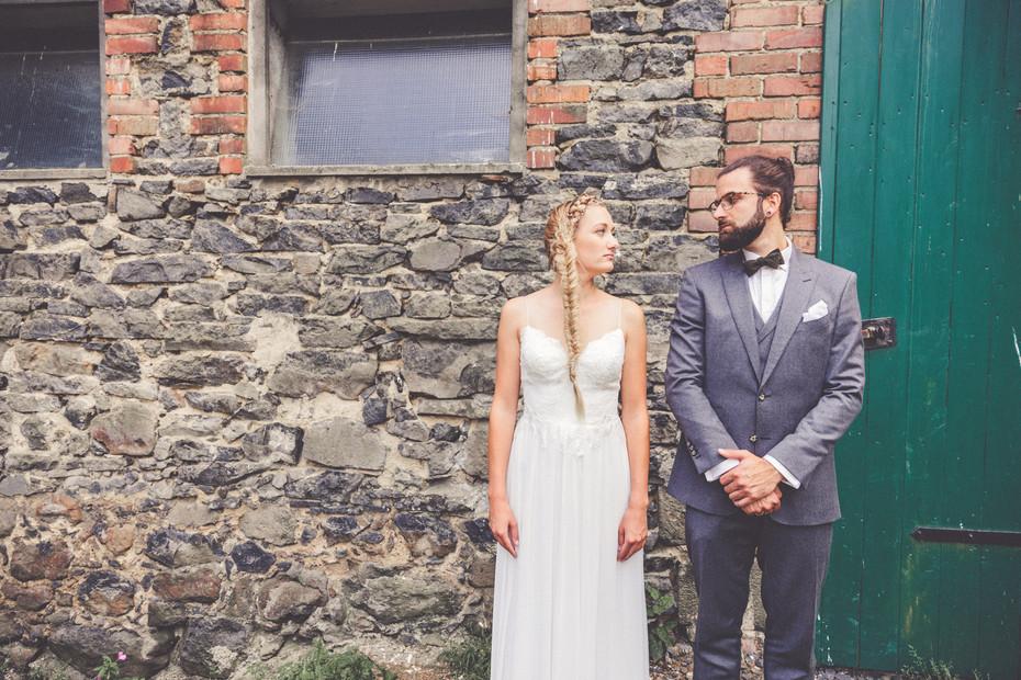 Scheune | Bauernhof | Brautpaar