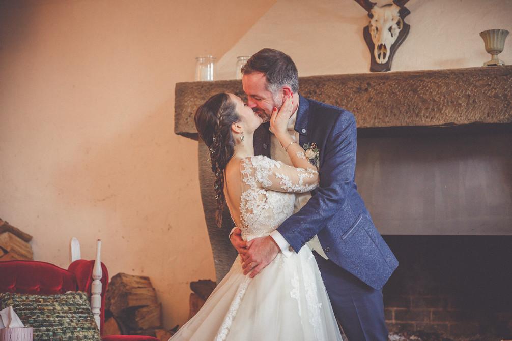 Hochzeitskuss | Brautpaar