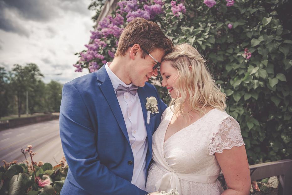 Brautpaar | Glücklich | Frühling