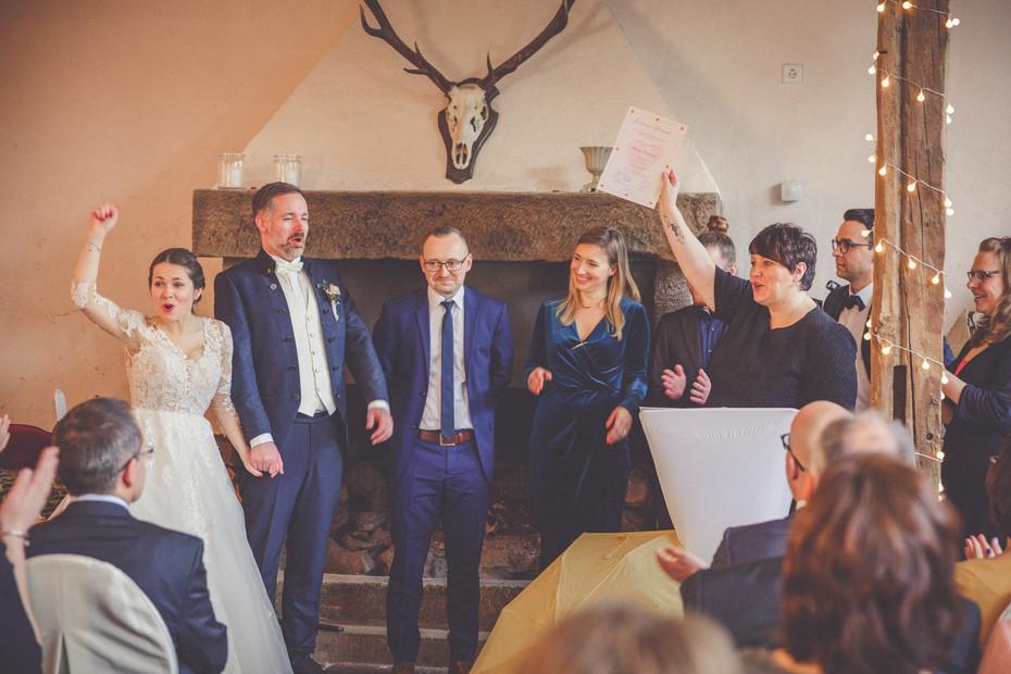Trauzeugen | Juhu | Brautpaar