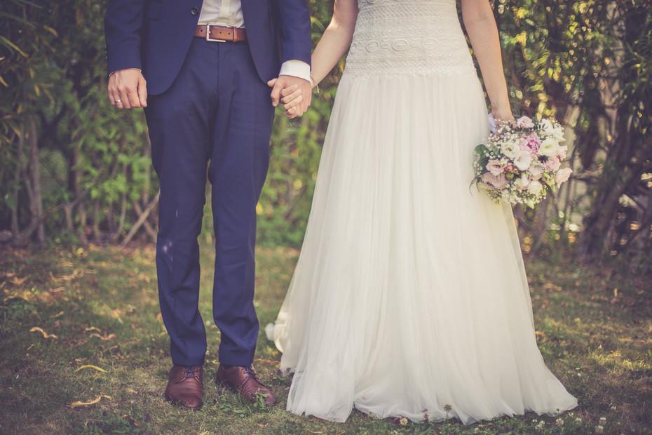 Hand   Brautpaar   Brautstrauß
