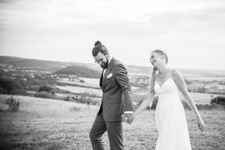 Lachen | Glücklich | Hochzeitsfoto
