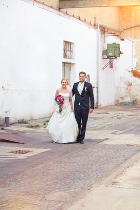 Brautpaarshooting | Hinterhof | Kassel | Kaufungen