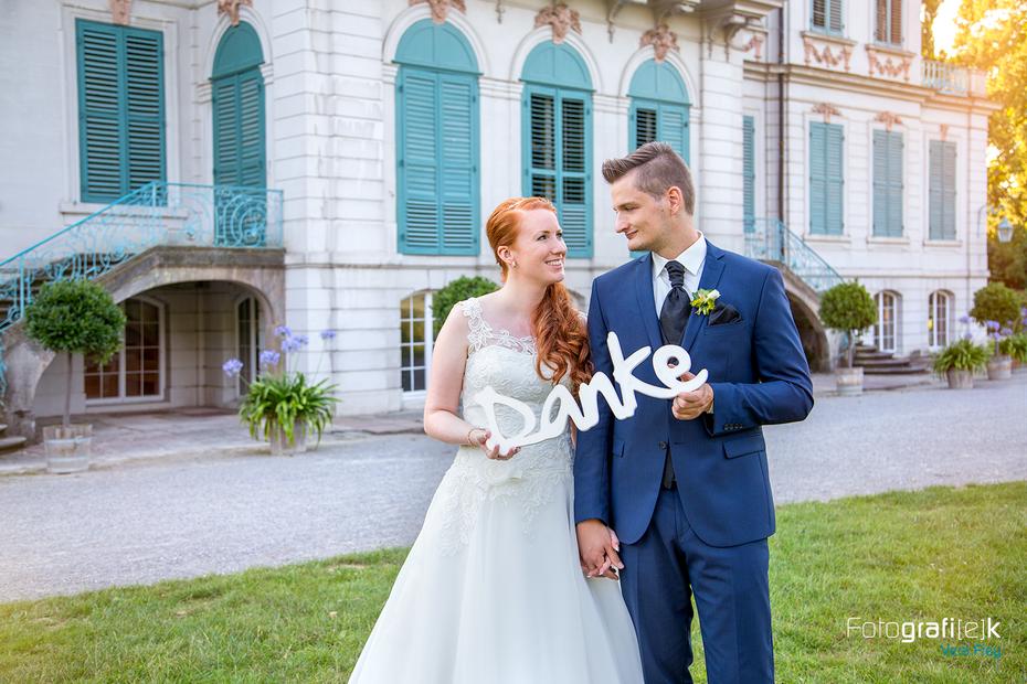 Brautpaar | Danke | Schloss Wilhelmsthal