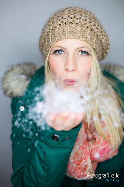 Winter   Schnee   Fotostudio   Kaufungen