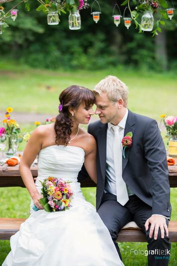 Brautpaarshooting | Naumburg | Holzbank