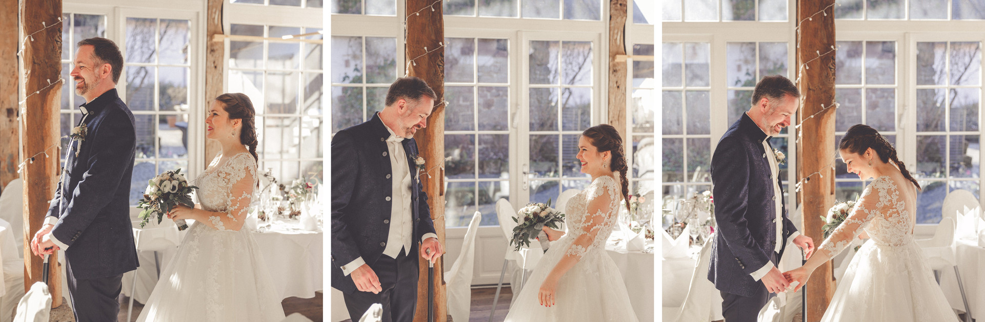 First look | Brautpaar | Hochzeitslocation