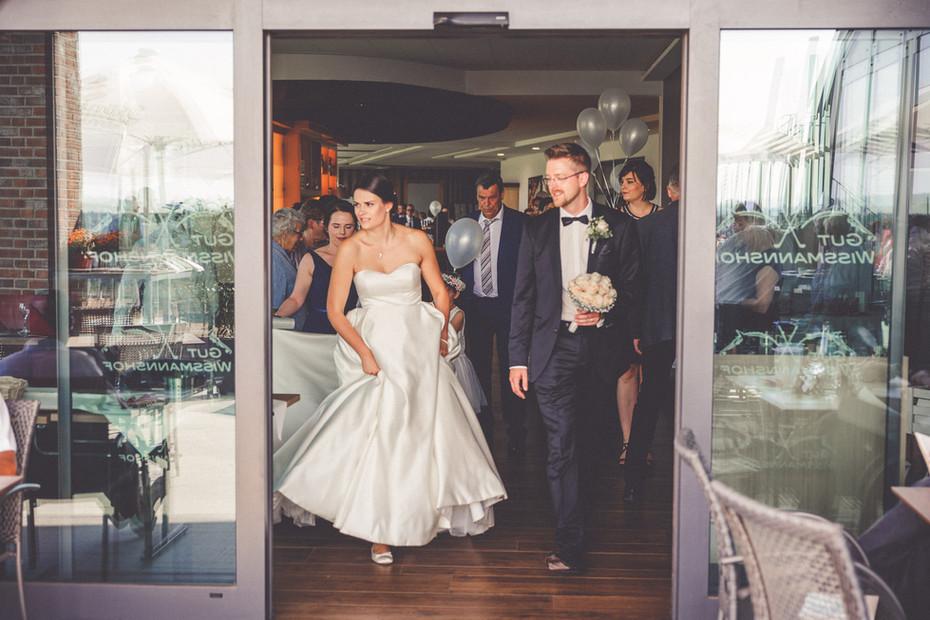 Hochzeit   Gut Wissmannshof   Brautpaar