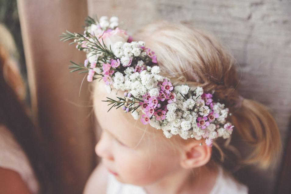 Blumenkind   Blumenkranz   Hochzeit   Nieste