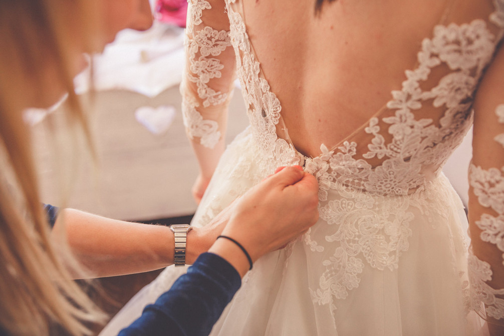 Get ready | Rückenausschnitt | Brautkleid