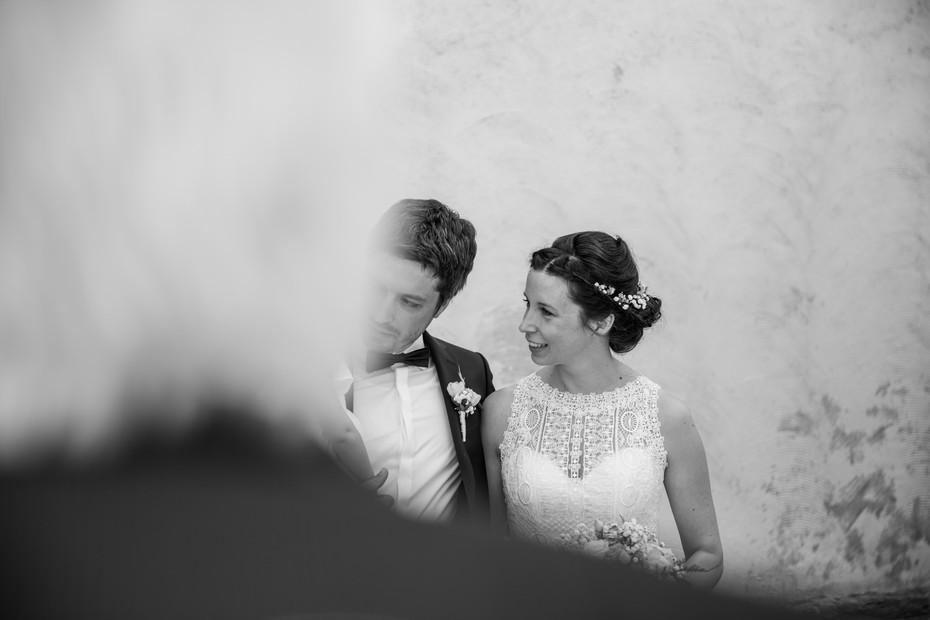 Brautpaar   Vintage   schwarz weiß
