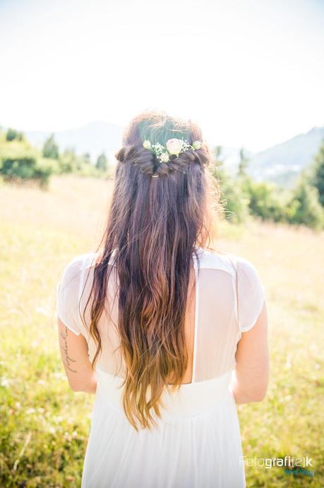 Braut | Hochzeitsfrisur | Bohemian
