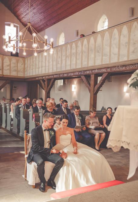 Hochzeit   Trauung   Kirche Nieste