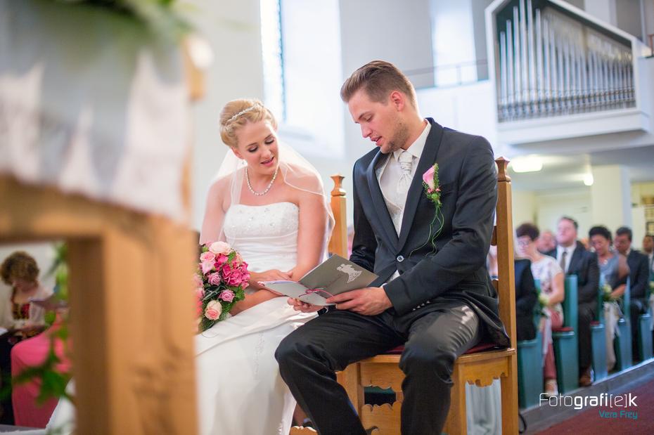 Trauung | Kirche | Kaufungen | Brautpaar