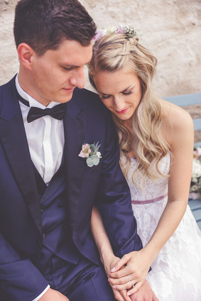 Brautpaar   Bank   Täumen