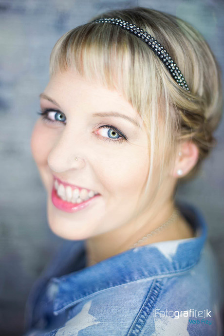 Smile   Haarband   Portrait   Studio   Shooting