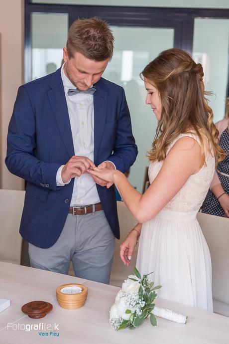 Ringwechsel | Standesamt | Brautpaar | Trauung