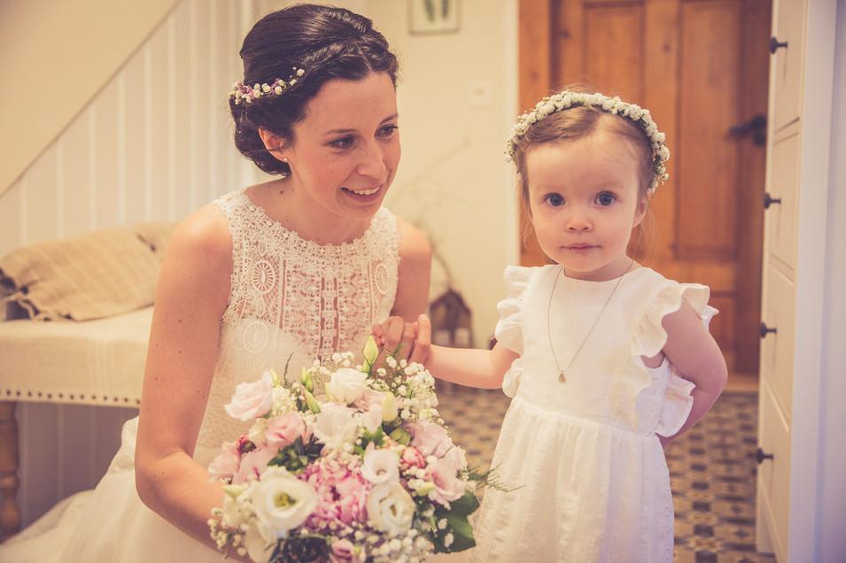 Braut | Tochter | Brautstrauß