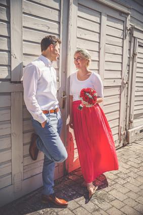 Brautppar | Scheune | Hochzeit