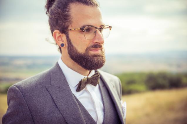 Bräutigam | Portrait | Fliege