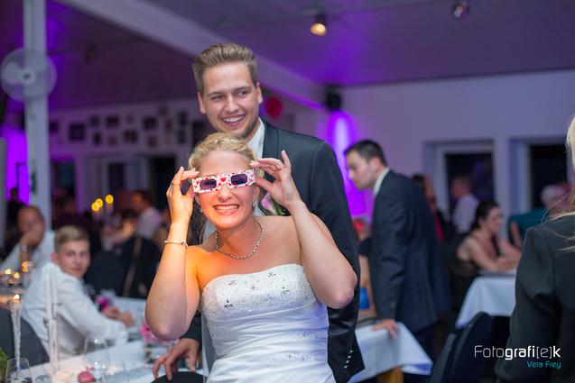 Brautpaar | Party | Herzbrille