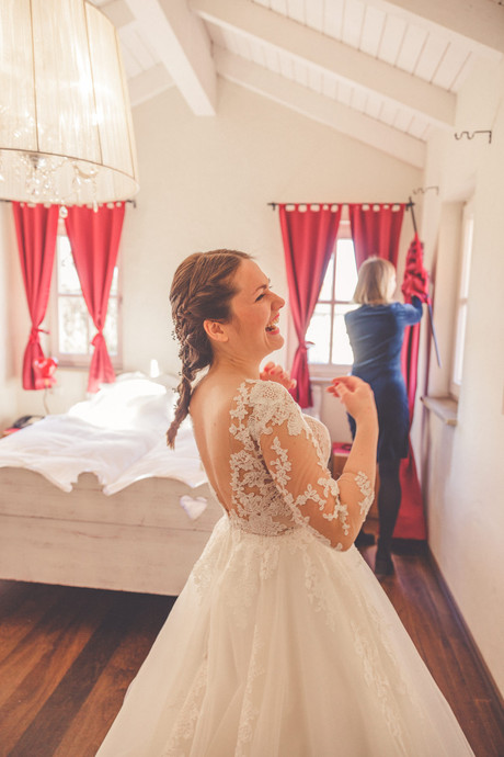 Get ready | Hotelzimmer | Braut