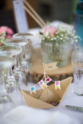Tischdekoration   Kindertisch   Hochzeit