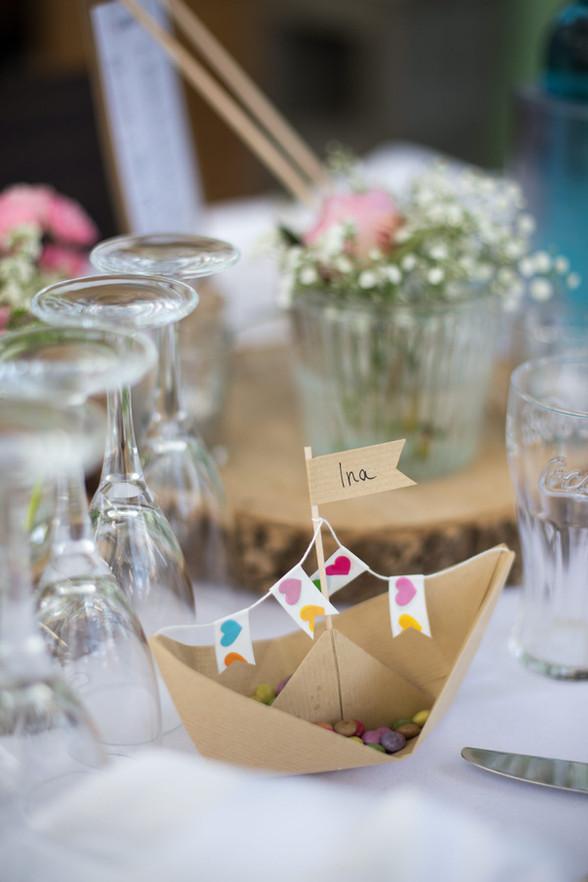 Tischdekoration | Kindertisch | Hochzeit