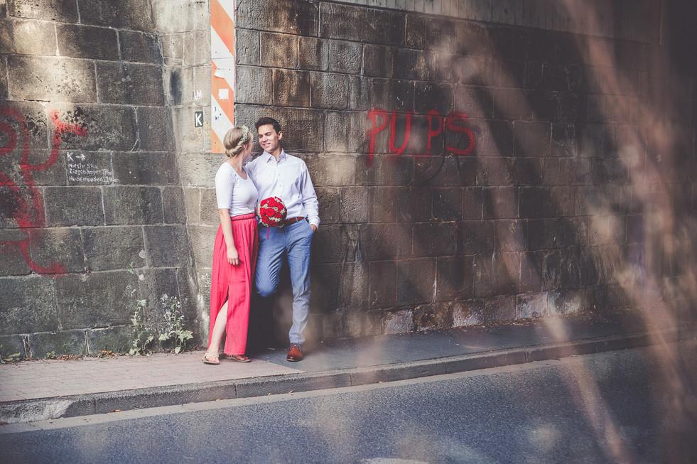 Blumenkranz | Brautstrauß | Brautpaar
