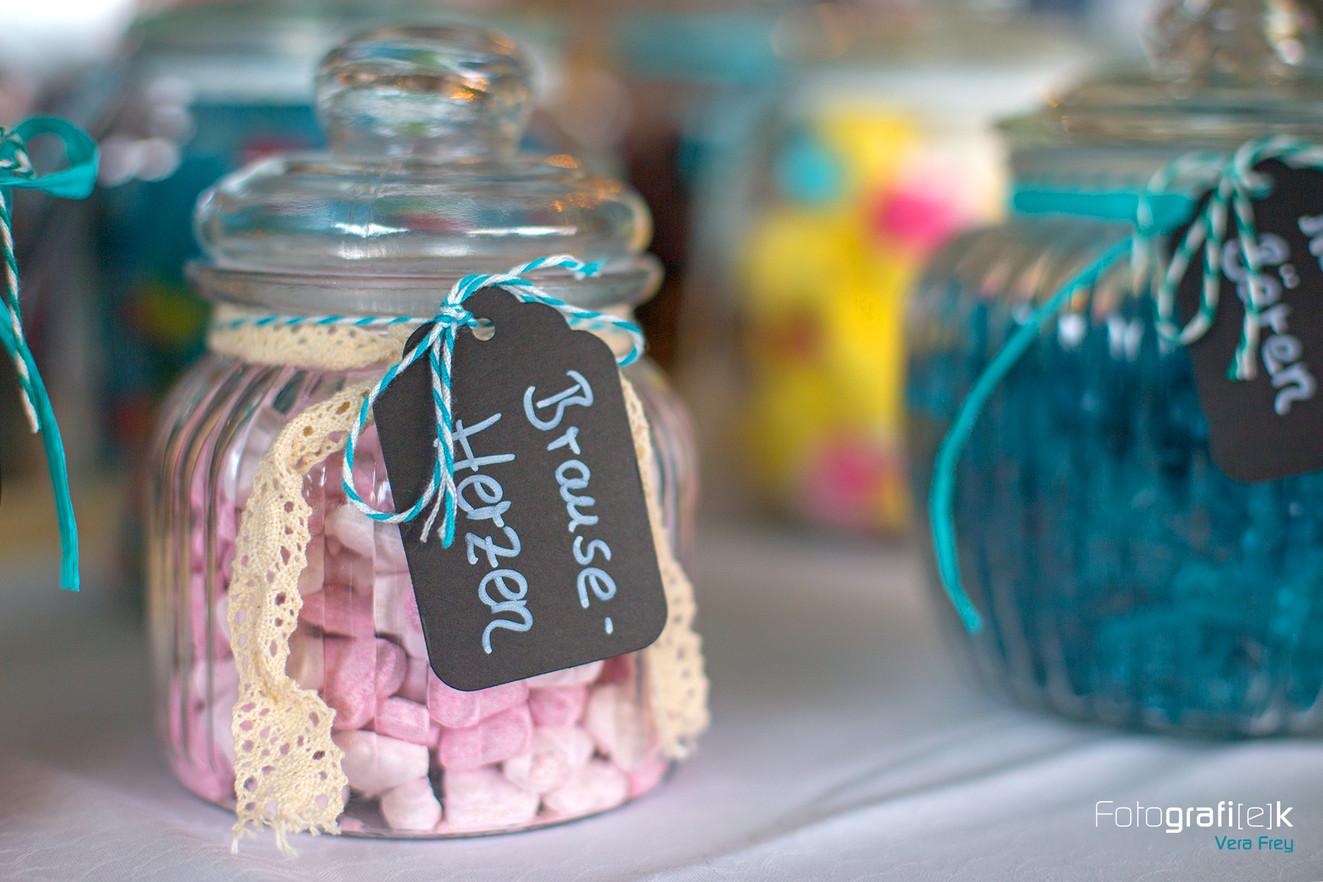 Candybar | Brause | Herzen | Gummibären