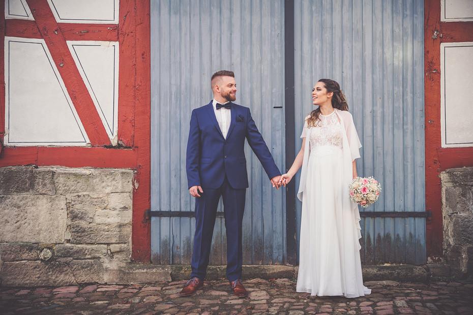 Scheune | Hochzeit | Brautpaar