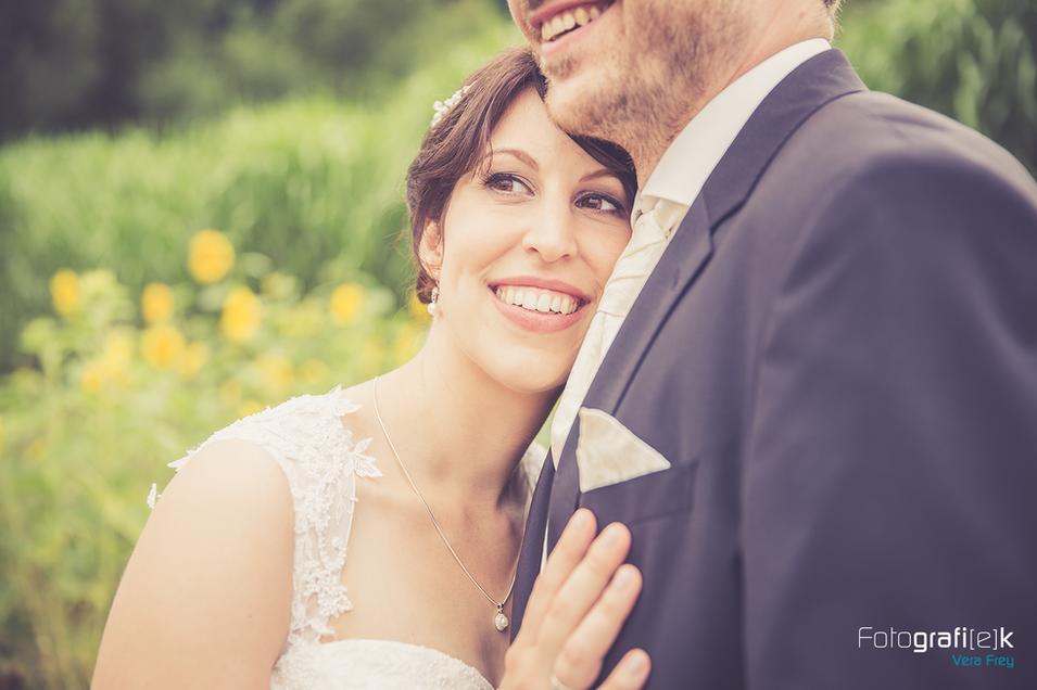 Brautpaar | Schulter | Ehering