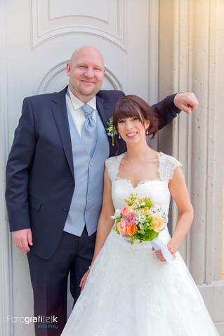 Braut | Bräutigam | Türbogen