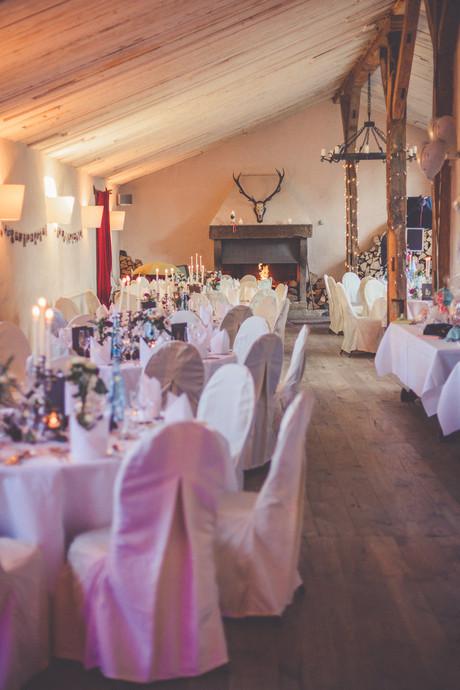 Hochzeitslocation | Hussen | Dekoration