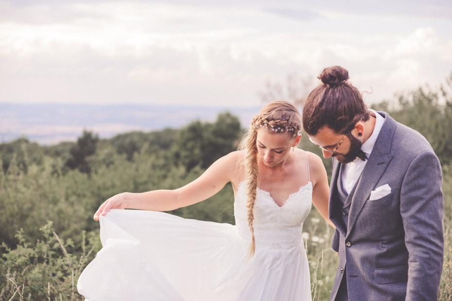 Brautkleid | Boho-Hochzeit | Wedding