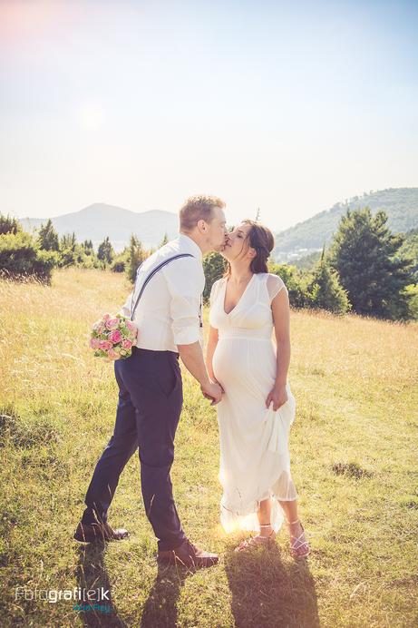 Kuss | Brautstrauss | Brautpaarshooting