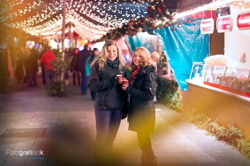 Outddorshooting   Freundschaft   Weihnachtsmarkt   Kassel