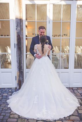Brautkleid | Rückenausschnitt | Sonnenschein