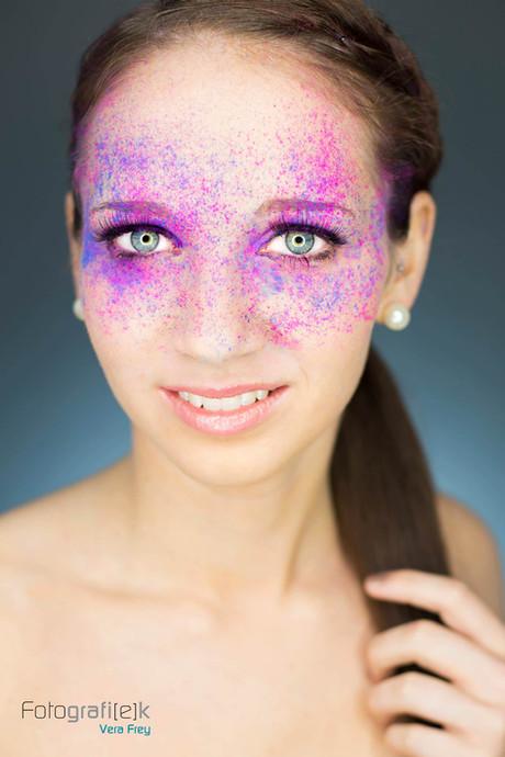 Kreide   Make-up   Studiofotografie