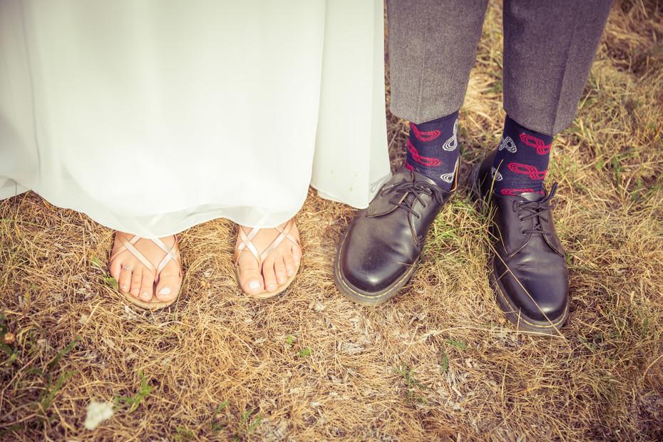 Füße | Socken | Brautschuhe