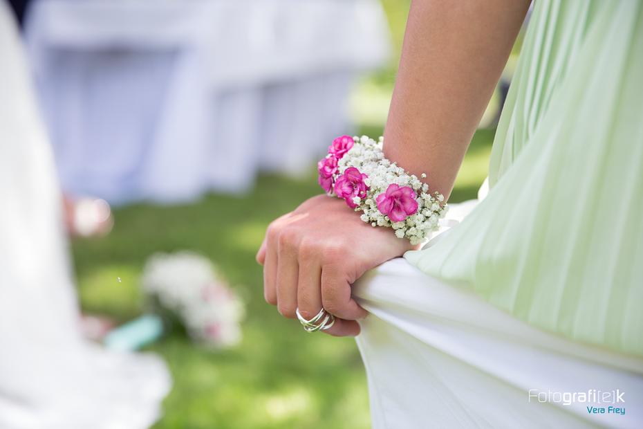 Detail | Armband | Blumen