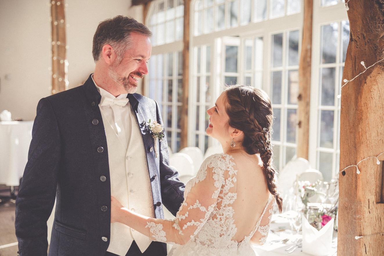 Brautpaar | glücklich | First look