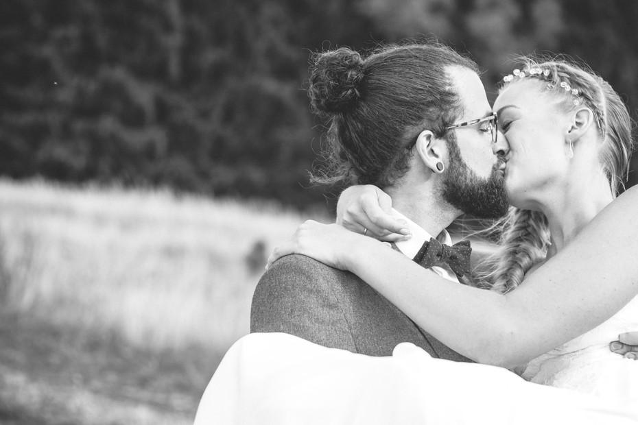 Kuss | Brautpaar | Shooting