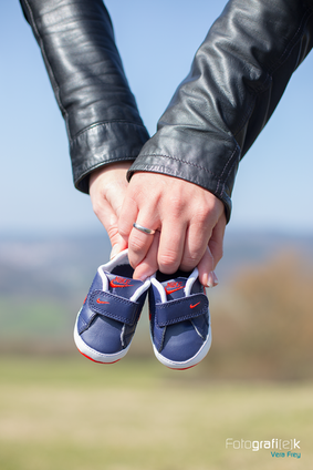 Babyschuhe   Nike   Detail   Schwangerschaft