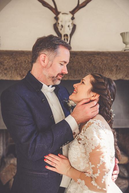 Geweih | Kamin | Hochzeit