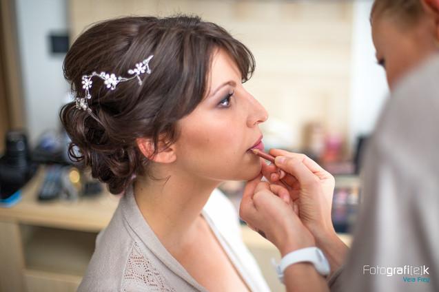 """""""get ready-Shooting""""   Braut   Make-Up   Lippenstift"""