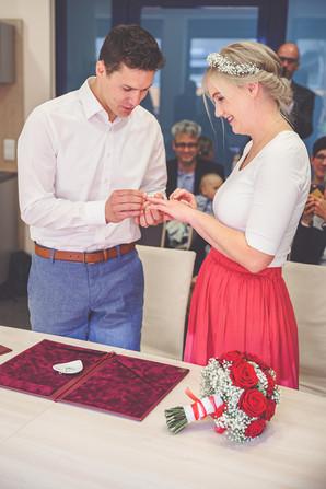 Ringwechsel | Trauung | Hochzeit
