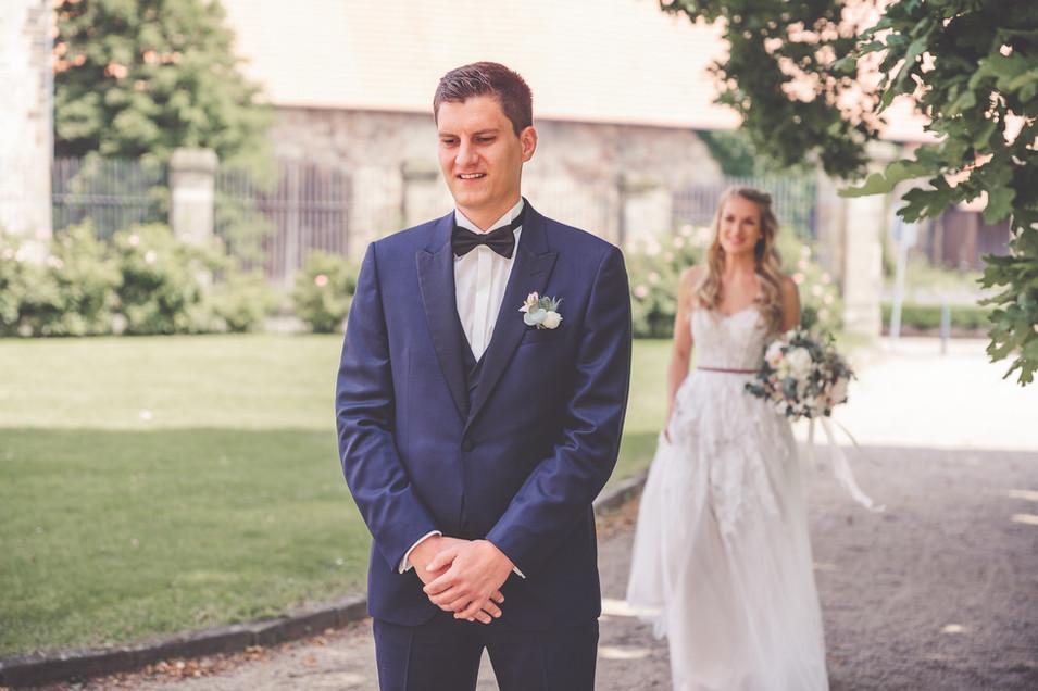 First-Look | Brautpaar | Hochzeit