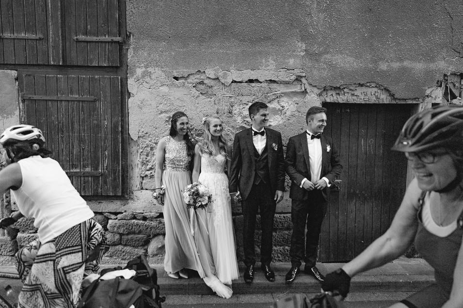 Trauuzeugen | Photobomb | Hochzeit